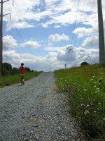 żwirowa droga