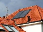 Zestaw 2 kolektorów Schüco Premium. Integracja w dach.